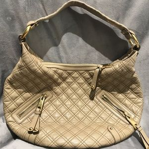 Marc Jacobs Quilted Leather Hobo Banana Bag